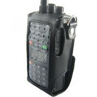 Wholesale Walkie talkie case Leather waterproof case for Wouxun KG UVD1P KG E KG KG KG UVD1P radio New waterproof bag