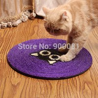 Wholesale Cat Scratching post sisal hemp Cat toys casinha para gatos com brinquedos catching blanket house cat scratch board