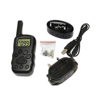 Wholesale 300M LCD Remote Electronic Dog Training Collar Levels Shock US AU EU Dropshipping H9018