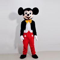 Ratón Pareja Mickey Minne Ratón Mascota de dibujos animados traje escuela mascota personaje Trajes para hombres 1803004