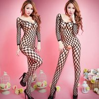 adult intimate lingerie - 151204 Sexy Lingerie hot see through body stocking Sexy costumes Adult Sexy Woman Fishnet pajamas Clothes Intimate wway XL