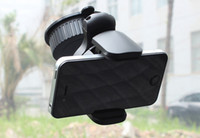 Cheap Universal 360 Foldable Windshield Dashboard Mini Car Holder Mount for iPhone 6 6 Plus galaxy S6 edge Mobile Phone Cellphone