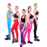 best slimming tights - Best Shiny High Waist Leggings Slimming Sports Womens Leggings Plus Size Cheap Sports Tight Leggings Trousers A13