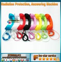 Wholesale NEW Sample order Fashion Anti radiation Fashion Headphones mm Wired Retro Telephone Handset Handheld Receiver