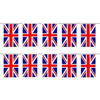 Wholesale FS Hot Union Jack Flag Bunting ft with Flags order lt no track