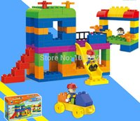 amusement slide - 145 Amusement Park Slide Building Blocks Toy Bricks DIY Assembling Classic Toys Early Educational Learning Toys