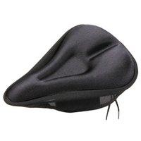 Concave Design 3D Sponge Bicicleta Saddle Cover Mounatin Bike Asiento Cushion Suave Cómodo Ciclismo Padded Asiento Cubierta B071
