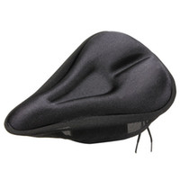 Wholesale Concave Design D Sponge Bicycle Saddle Cover Mounatin Bike Seat Cushion Soft Thick Comfortable Cycling Padded Seat Cover B071
