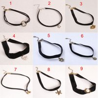 stainless steel rope - Hot Selling Gothic Style Vintage Hollow out Fashion Lace Necklace Statement Choker Necklace For Women chokers