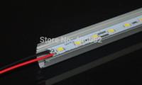 Wholesale SMD5050 led bar light volt rigid strip cabinet light LEDs M With V shaped Aluminum channel