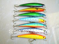artificial river - Hot Fishing lures CM G hook for tackle pesca artificial Minnow Bait swimbait river lure fish wobbler