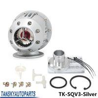 Wholesale Universal Black SQV SSQV Bov Turbo Blow Off Valve Bov with Adapter Flange silver copy TK SQV3 Sliver