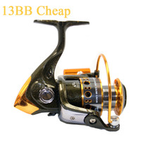 Wholesale Cheap Fishing Reel BB Coil Spinning Reel Fishing Equipment Quality Reels for Fishing Carretilha Pesca pesca