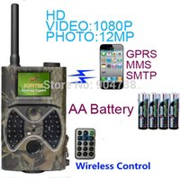 Wholesale Suntek HC300M Hunting Camera nm Night Vision Full HD P MMS GPRS Hunting Game Trail Camera