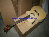 Wholesale Guitar Factory New Arrival Natural Electric Acoustic Guitar with Fishman pickups guitars from China