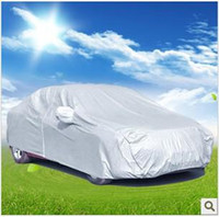 Wholesale Hot sale high quality silver color suv universal car cover waterproof with PVC S M L