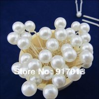 Wholesale mm Pearl Hair Pins Clips Women Wedding Bridal Women Hair Jewelry For Hair Accessories