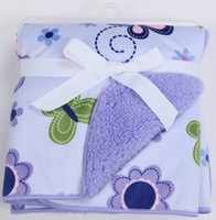Wholesale Cute Carton Lion Butterfly Baby Girl or Boy Baby Blankets Newborn Pairsarc Infant Baby Products102 cm