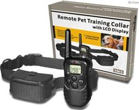 Wholesale for dog M New LCD REMOTE CONTROL LV Shock Vibra Remote Electric Dog Training Collar