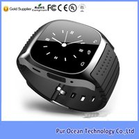 best outdoor thermometers - Top selling best cheap inch bluetooth m26 smart watch with LED Display Passometer Altimeter Thermometer Functions