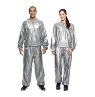 Plus Size slimming sauna suits - heavy duty sauna suit sweat clothes men and women lose weight slimming Workout clothes diet