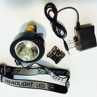 Wholesale KL2 LM A W Cree LED Headlamp Miner s Lamp Mining Light Good Quality Black ABS Plastic
