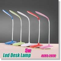 Wholesale Rechargeable flexible desk lamp with USB Port gift levels touch control dimmable modern desk lamp