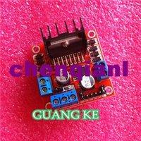 Cheap Free Shipping 50pcs lot L298N motor driver board module L298 for arduino stepper motor smart car robot