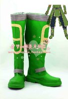 alfheim online - New Arrival Custom Made Sword Art Online ALfheim Cosplay Shoes Boots High Quality Pleather