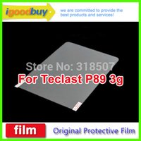 Cheap Wholesale-New 2015 5pcs for Teclast P89 3g 196*131mm talk tablet clear screen protector 7.9inch IPS retina protective film for tablets