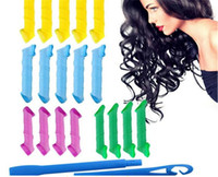 adapt hair - MAGIC LEVERAG Magic Hair Curler Roller Tool adapt dry and wet hair set