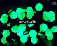 Wholesale Hot sale high quality christmas lights M LED garden decoration lamp string waterproof LED ball lamp string