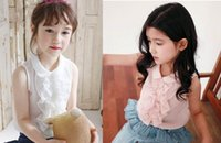 amber leaf - Amber Berry Summer Girl Shirts Lotus Leaf Chiffon Sleeveless Shirts Year