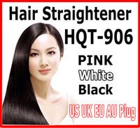 al por mayor cepillo de temperatura-Hot US UK AU UE Plug Fast Hair Straightener Styling Herramienta Flat Iron Comb Brush Masaje con control de temperatura LCD Digital
