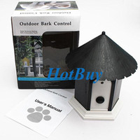 Wholesale Pet Dog Outdoor Ultrasonic Bark Stop Deter Nuisance Control Anti Barking House