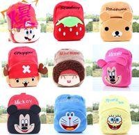 baby backpack sale - Hot Sale Factory Supply Top Quality Cheap Baby Backpack Bag Cartoon Children Backpacks Baby School Backpack Kids Bags Random T698