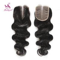 Wholesale 7A Brazilian Malaysian Peruvian Cambodian Indian Virgin Human Hair Closure Brazilian Body Wave Wavy Top Lace Closures Bleach Knots Size