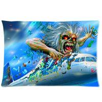 Wholesale One Side PillowCase Rock Band Iron Maiden PillowCase x30