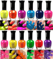 kleancolor - New Kleancolor Nail Polish Neon Collection Set of Lacquer Full Size Art