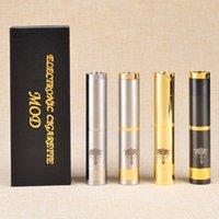 Cheap Wholesale-Drop shipping!Factory Wholesales Clone Nemesis Ecig mech mod Electronic Cigarette for 510 EGO Atomizer 1 pcs lot