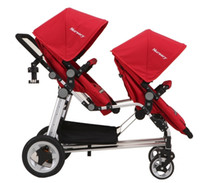 Wholesale Baby Strollers For Twins Babies New Baby Pram Folding Multifunctional Comfortable Stroller Travel carriage by baby strollers MC