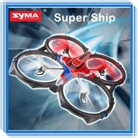 Cheap TOP Quality Original Syma X6 58CM Big RC Quadcopter 2.4g 4ch 6 Axis Remote Control quad copter Ar.drone Drone Helicopter gyro Free Shipping