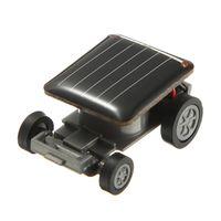 auto fun power - New Mini Sunlight Solar Powered Robet Racing racer Car auto Fun Gadget For Kids Gift New Mini Children Solar Toy Gift Hot Sale