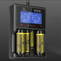 Wholesale XTAR VC4 LCD Smart Battery Charger Intelligently Identify Charger Short Circuit Polarity Reverse Protection