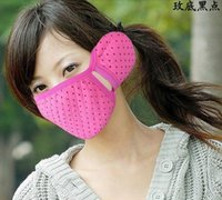 Wholesale Combo lovely warm winter warm dust masks masks earmuffs fashion wind thickening Siamese masks JC