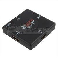 Wholesale 10Pcs Mini Port HDMI Switch Switcher HDMI Splitter HDMI Port for HDTV P Vedio