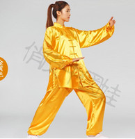 achat en gros de costumes de wushu-Unisexe Chine Tang costume shadowboxing / wushu / kung fu nation Robes d'arts martiaux Taille S - 3XL, #