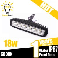 Cheap 18W LED Bar work Light Best 6 Inch 18W LED Work Light