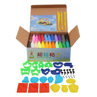 airs special effects - NEW colors Soft Polymer Modelling Clay set with tools Air dried good package FIMO Effect Blocks Special Toys DIY polymer clay2