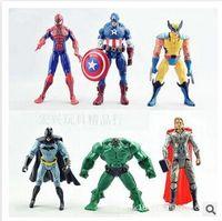 hot toys figure - The Avengers Marvel Hero Captain Iron Man the Hulk quot Action Figure Doll Toys Movie Carton hot set
